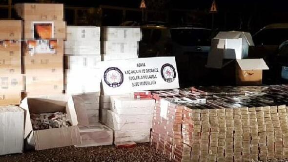TIR dorsesinde 60 bin 580 paket gümrük kaçağı sigara yakalandı