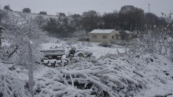 Çanakkalede kar yağışı/ Ek fotoğraflar
