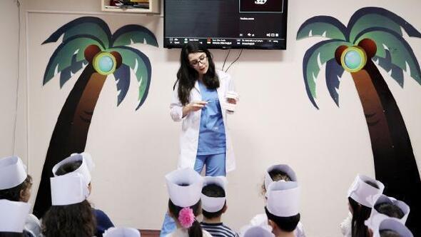 Kartallı miniklere ağız ve diş sağlığı eğitimi