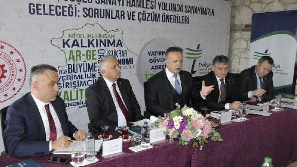 Türkiye ve Trakya'nın güçlü ekonomisi için beyin fırtınası yaptı