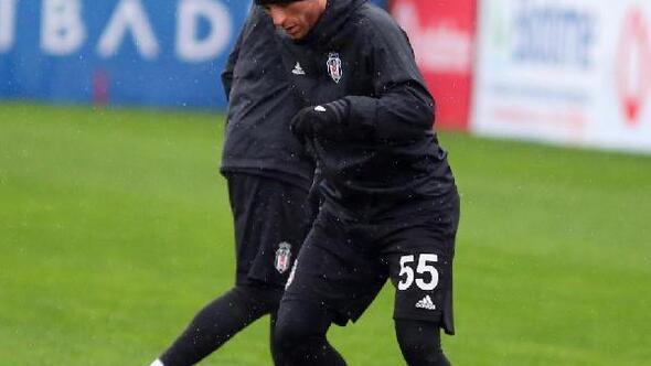 Beşiktaşta derbi maçın hazırlıkları başladı