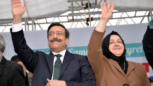 AK Partinin adayı Atillaya Diyarbakırda coşkulu karşılama