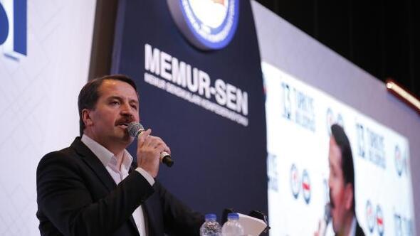 Memur-Sen Başkanı Yalçından en az 2 bin lira asgari ücret çağrısı