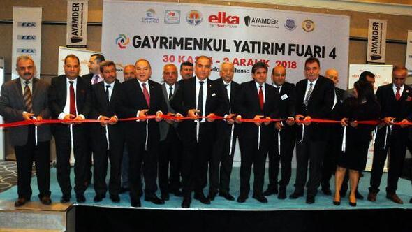Adanada 4'üncü Gayrimenkul Yatırım Fuarı açıldı