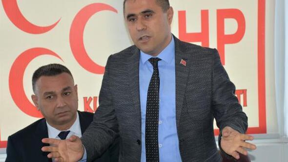 MHPnin Kumluca adayı Hüseyin Orhantekin