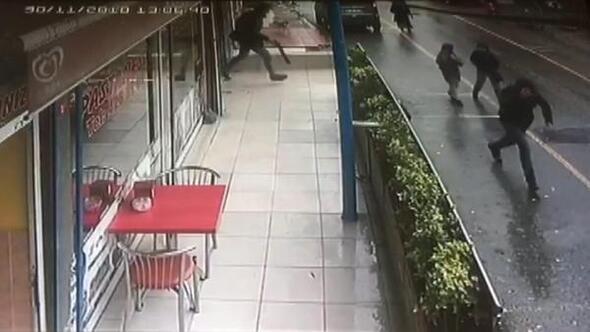 Kuyumcuda kanlı soygun girişimi güvenlik kamerasında