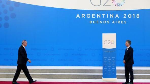 Cumhurbaşkanı Erdoğan G20 Liderler Zirvesinin yapılacağı binada (2)