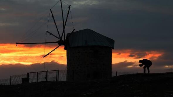 Bodrumda gün batımı