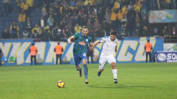 Çaykur Rizespor - MKE Ankaragücü: 1-1