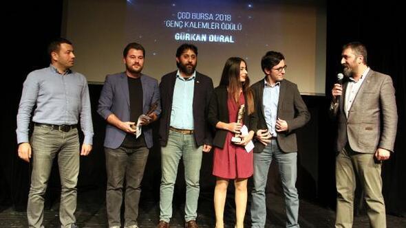 DHA muhabiri Gürkan Dural, ödülünü aldı