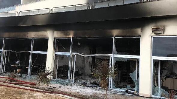 Termal otelde korkutan yangın/ Ek fotoğraflar
