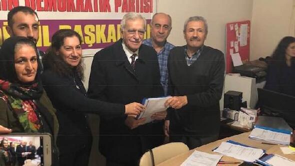 Ahmet Türk, Mardin Büyükşehir için HDPden aday adayı