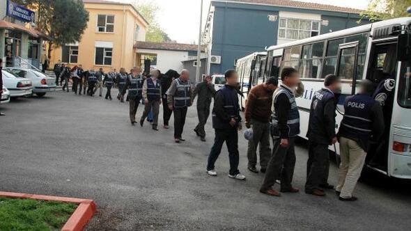 Kasımda aranan 1093 kişi yakalandı, 90ı tutuklandı