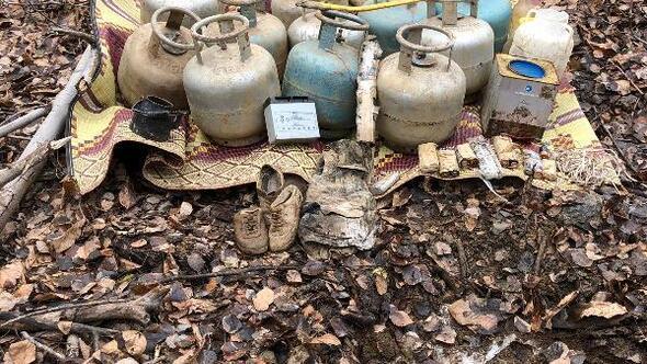 Bitliste terör örgütü PKKya ait 2 sığınak tespit edildi