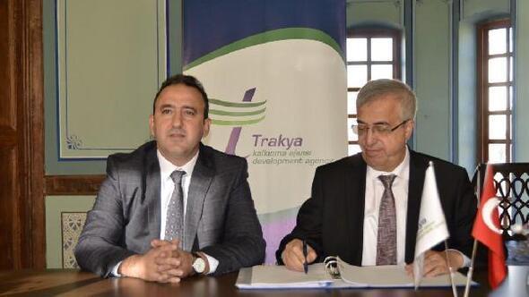 Kırklareli Üniversitesi ile Trakya Kalkınma Ajansı arasında eğitim sözleşmesi imzalandı