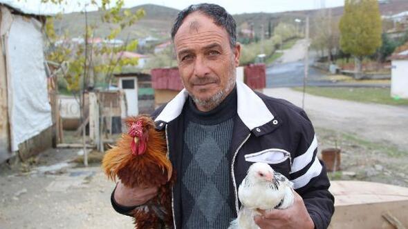 Kendi imkanlarıyla kurduğu çiftlikte patron oldu