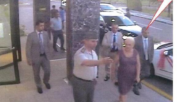Jandarma eski Genel Komutanı Galip Mendinin kaçırılma anı güvenlik kamerasında