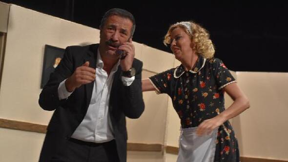 Tekirdağda, Kocamın nişanlısı adlı oyun sahnelendi