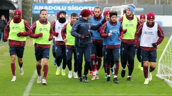 Trabzonsporda 4 isim salonda çalıştı