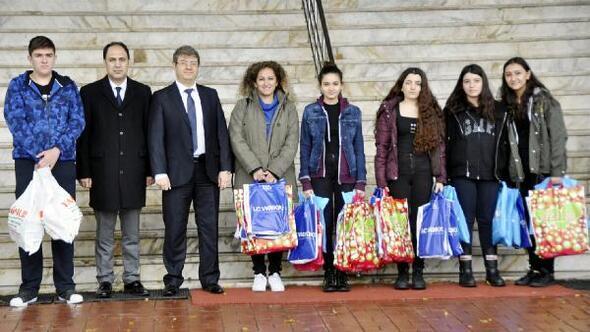 GKV'li öğrencilerden anlamlı ziyaret