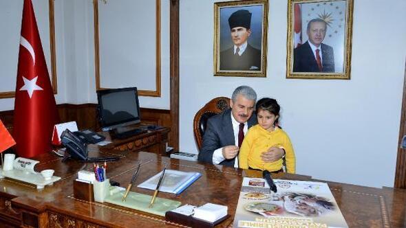 Kırşehir'deki anasınıfı öğrencilerinden anlamlı proje