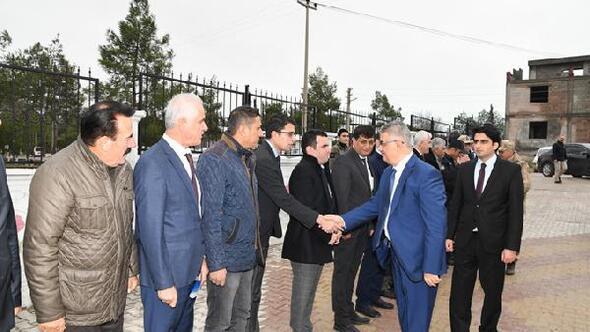 Vali Aykut Pekmez'den Samsata ziyaret