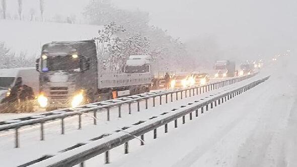 Karabük- Ankara yolunda TIR'ların geçişine izin verilmiyor