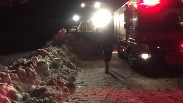 Dağda kaybolan 2 teknisyen, 6 saatlik çalışmayla bulundu