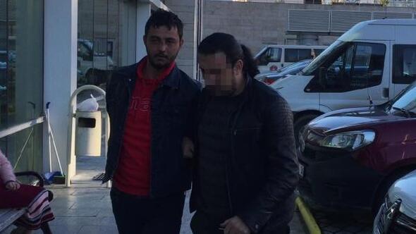 Polis aracına tüfekle ateş eden maskeli şüpheli yakalandı