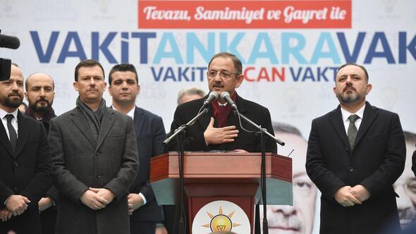 Özhaseki'den Sincan'a kentsel dönüşüm sözü