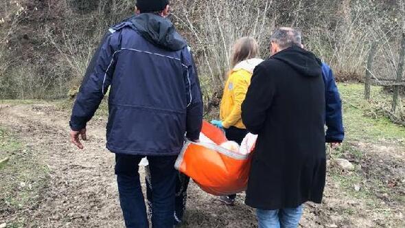 Vali devreye girdi, oğlunun sırtında taşıdığı anne hastaneye yatırıldı