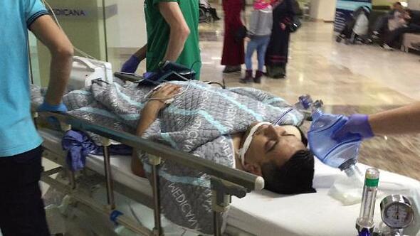 Ayakkabı boyacısı pompalı saldırıda ağır yaralandı