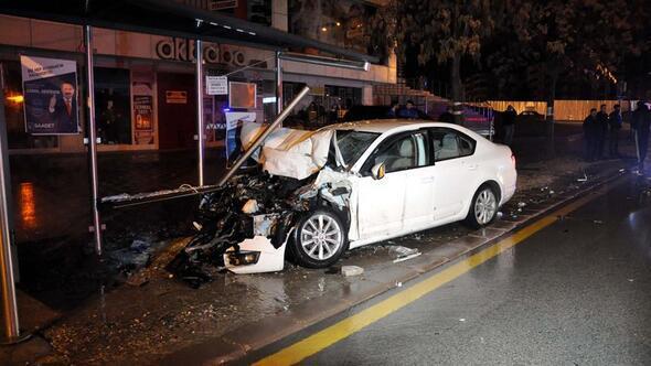 Başkent'te kaza dolu gece