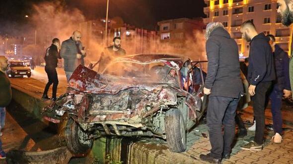 Samsunda zincirleme kaza: 5 yaralı