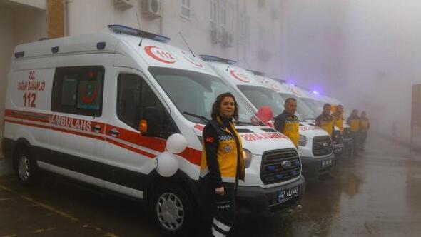 Mardinde tam donanımlı 8 ambulans hizmette