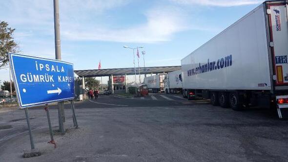Yunanistandan bazı TIRlar için giriş yasağı