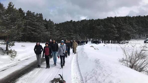 Koyulhisarda doğa yürüyüşü düzenlendi