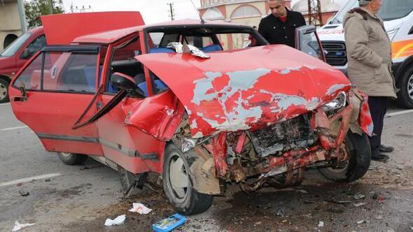 Samsunda oy kullanma dönüşü kaza: 7 yaralı