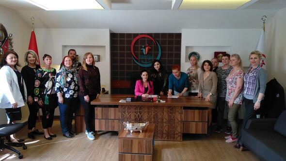 Estonyalı öğrencilere sağlık eğitimi