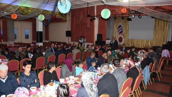 Elmadağda şehit aileleri ve gaziler onuruna iftar