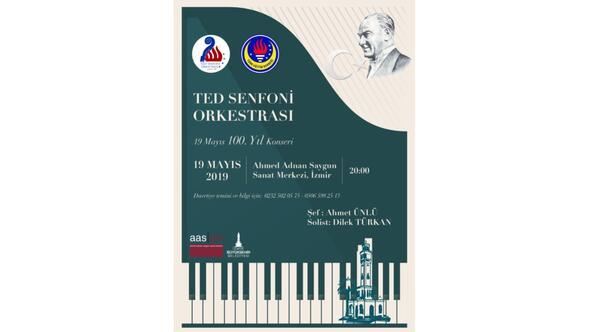 TED Senfoni Orkestrasından 19 Mayıs 100. Yıl Konseri