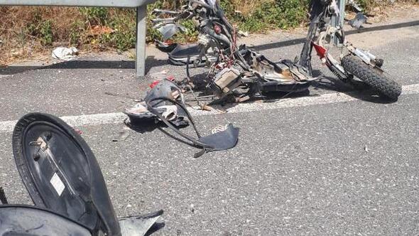 Muğlada otomobil ile motosiklet çarpıştı: 1 ölü