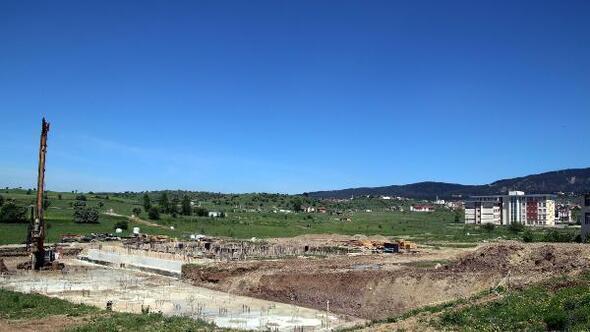 Geredeye 300 kişilik yeni öğrenci yurdu inşaatı başladı