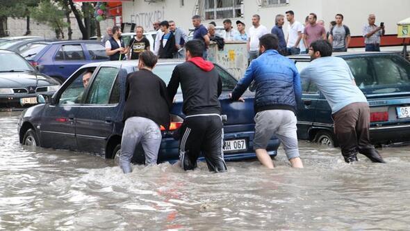 Ankara Haberleri - Sular çekildi hasar ortaya çıktı - Yerel Haberler