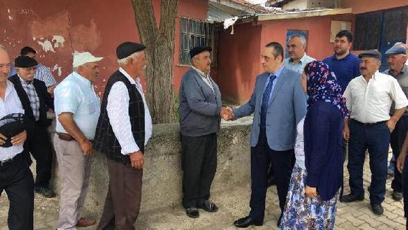 Kaymakam Anttan köy ziyaretleri