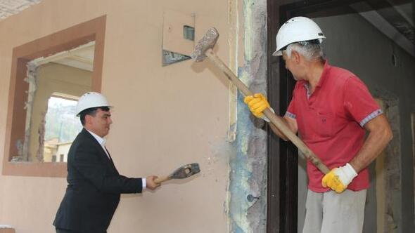 Hacılarda 2nci etap konutlar için kentsel dönüşüm çalışması