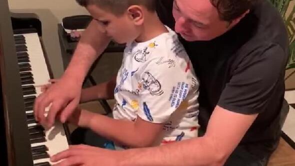 Kusursuz kulak Bager, Fazıl Say ile piyano çaldı