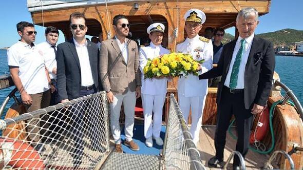 Foçada Denizcilik ve Kabotaj Bayramı coşkusu