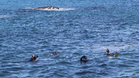 Denizde kaybolan müzik öğretmeninin cansız bedenine ulaşıldı