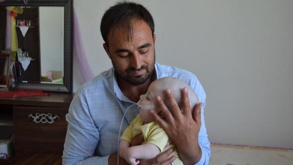 1 yaşındaki Yunus Emreye devlet sahip çıktı